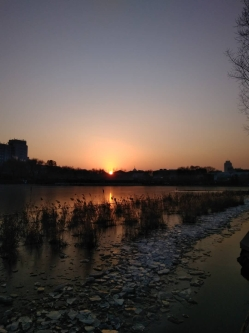Xihai Lake sunset