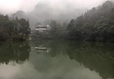 chengdu - qingcheng mountain lake ii
