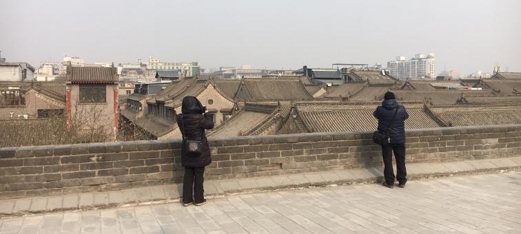xi'an inside city wall
