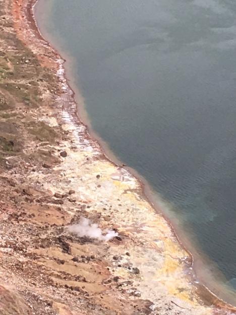 Lake Taal brodeln