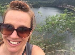 Lake Taal selfie