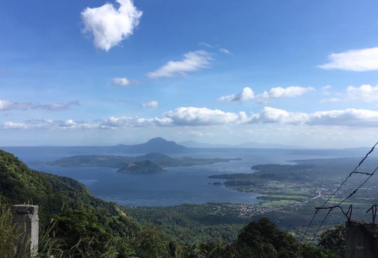 Lake Taal - von oben